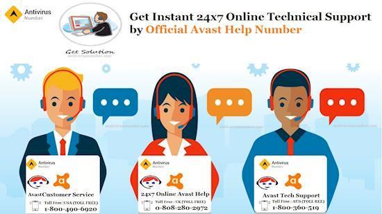 Avast Customer Service Number