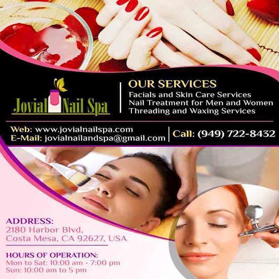 Facials and Skin Care Services | Jovial Nail Spa