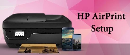 Setup Airprint on HP
