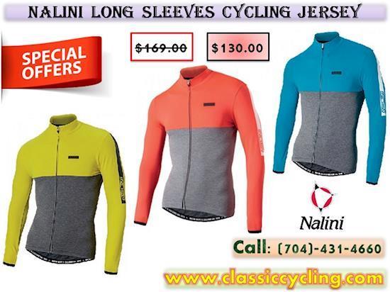 Nalini Mantova Warm Long Sleeves Jersey for Men on Huge Sale