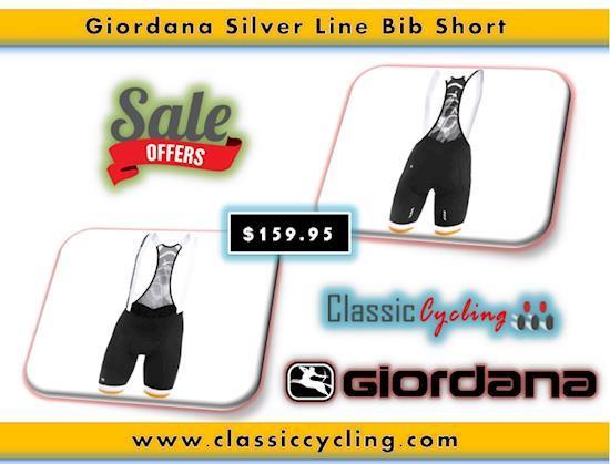Giordana Silver Line Bib Short | Men's Cycling Apparel