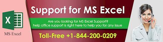 Get quick help to update MS Excel