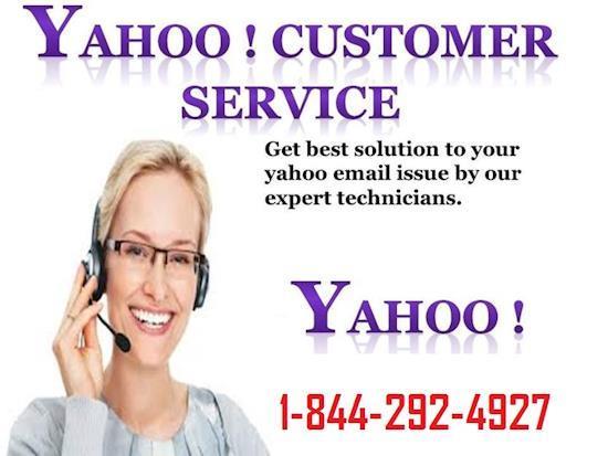 Yahoo Customer Service Number 1-844-292-4927