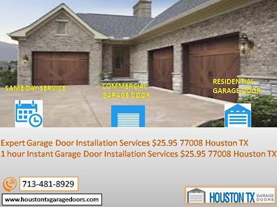 24/7 Garage Door Repair Houston 77008 TX – Call 713-481-8929