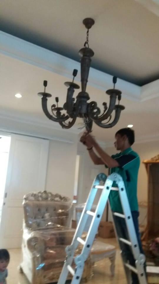 cuci lampu kristal 021-88354281