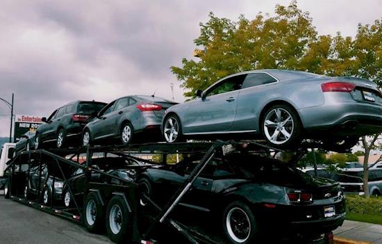 Auto car transport shipping services california at ALVISO, CA