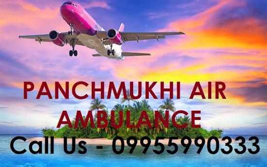 Panchmukhi Prominent Air Ambulance from Patna to Delhi