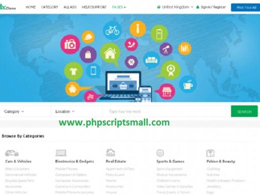 Php classified script, Craigslist Clone script, classified ads script php