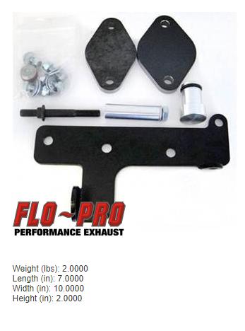 FloPro EGR COOLER ONLY Delete Kit - Dodge 2010-2012