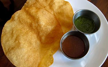 Get Free Papadum and Chutney @Shad Indian Restaurant !