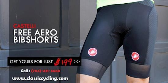 Castelli Free Aero Race Bib Shorts | Cycling Clothes for Men