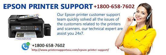 Epson Printer Repair Service 1800-658-7602 Number