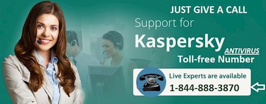 Kaspersky Antivirus Support Canada Number: 1-844-888-3870