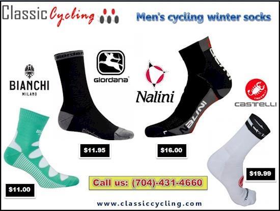 Hurry up….Men's Winter Wool Cycling Socks | Huge Sale on 2018