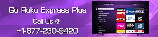 Activate Roku Express Plus