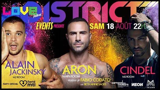 District Pride: DJs Aron Cindel, Alain Jackinsky & Fabio Codato Tickets   Etickets.ca