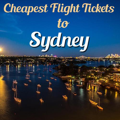 Sydney Airline Tickets| Lowest  Airfares
