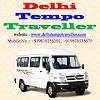 Delhi Tempo Traveller Icon