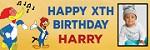 1st birthday banners- custombirthdaybanners.co.uk Icon