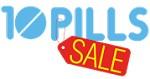 10 pills sale Icon