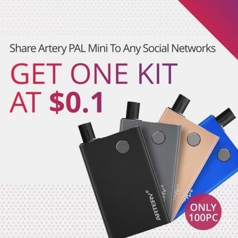 Get Artery Pal Mini Kit AT $0.1