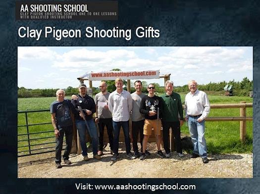 Clay Pigeon Shooting Gifts | Aashootingschool.com