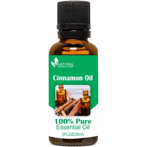 Cinnamon Oil, Natural Essential Oils, Natural Herbs Clinic