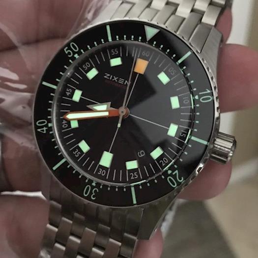 Zixen Watch Vintage Nitrox II