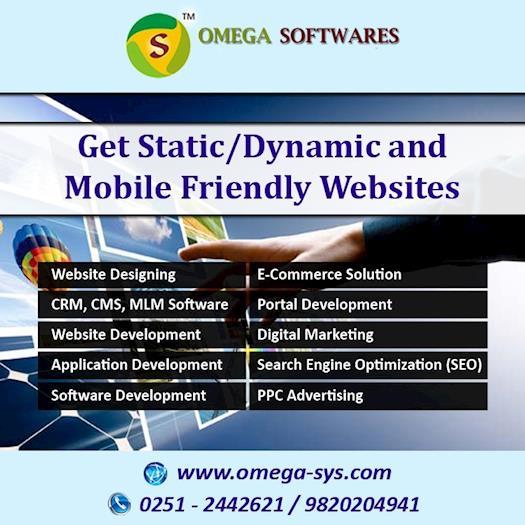 Get Custom/user-friendly Website Design & Development Service