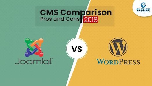 Joomla vs WordPress - CMS Comparison (Pros and Cons) 2018