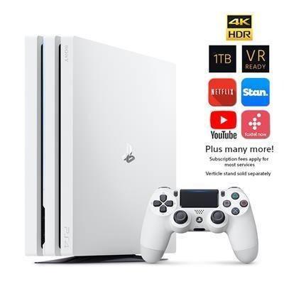 Ps4 Playstation 4 1tb Pro Console Glacier White