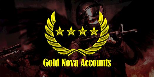 Reach at Gold Nova Rank Instantly with Gold Nova Account