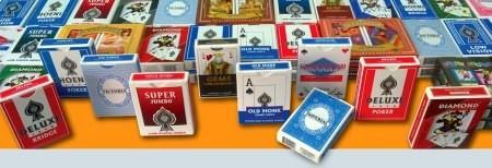 Range of custom playing cards