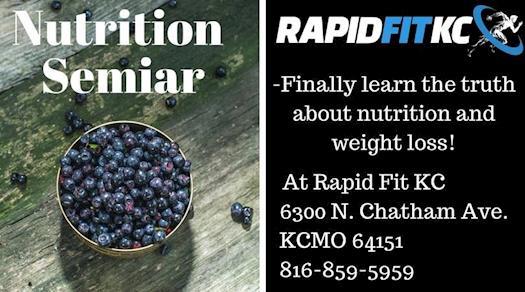 Rapid Fit KC Nutrition Seminar