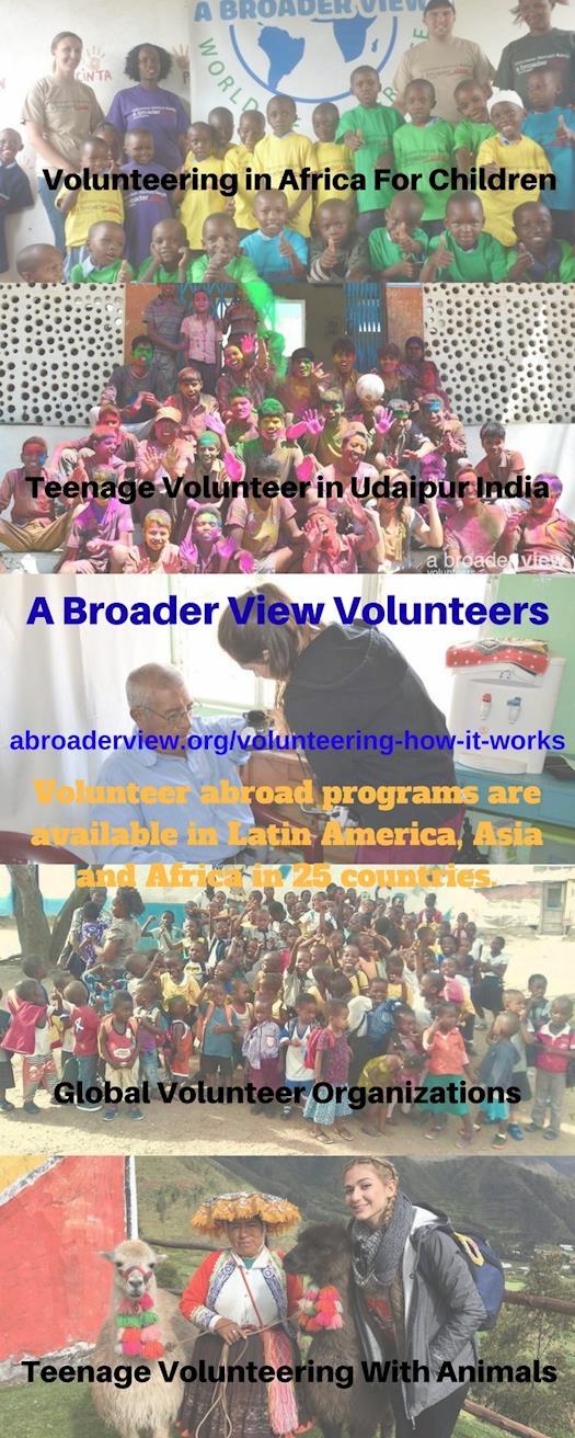 Global Volunteer Organizations Programs