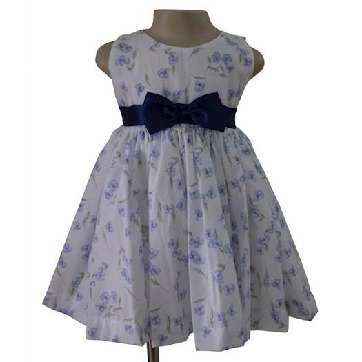 Faye Floral Print Dress for Children