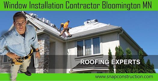 Window installation contractor bloomington mn