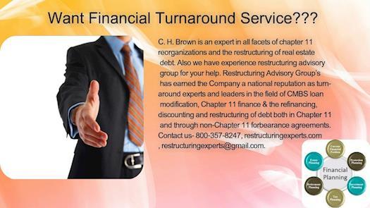 Want Financial Turnaround Service???