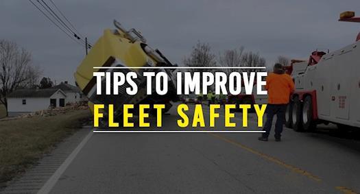 Tips to Improve Fleet Safety