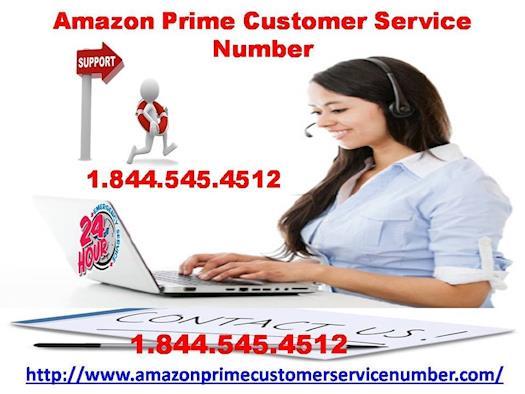 Get ultimate help via Amazon Prime Customer Service Number 1-844-545-4512