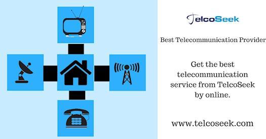 Best telecommunication provider - TelcoSeek