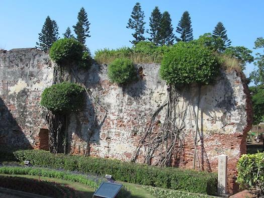 Crumbling Dutch Wall