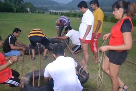 Outdoor team building activities in Hyderabad