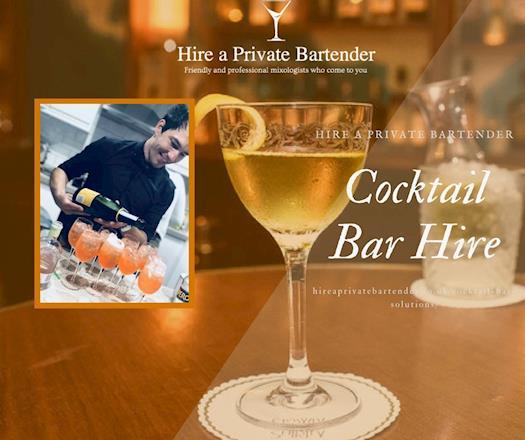 Cocktail Bar Hire- Enjoy  A Stress Free Event