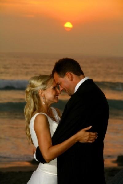 Troy Joseph Flowers with Wife