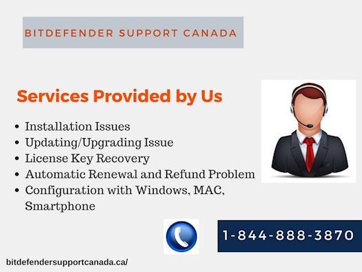 Bitdefender Support Canada