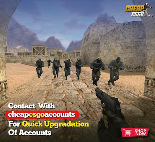 Upgrade your CSGO Accounts Quickly