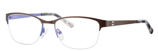 Semi Rimless Presciption Glasses-METZ 1487