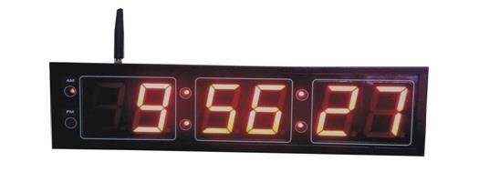Wireless Digital Clock with Hour