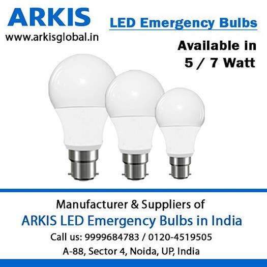 ARKIS LED Emergency Bulbs in India